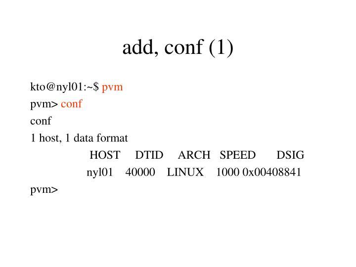 add, conf (1)
