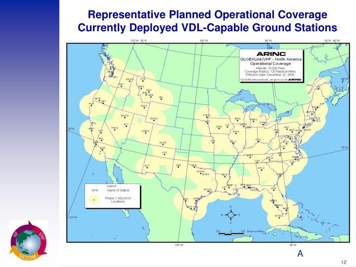Representative Planned Operational Coverage