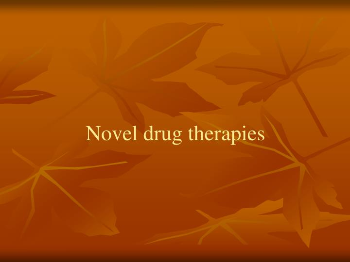 Novel drug therapies