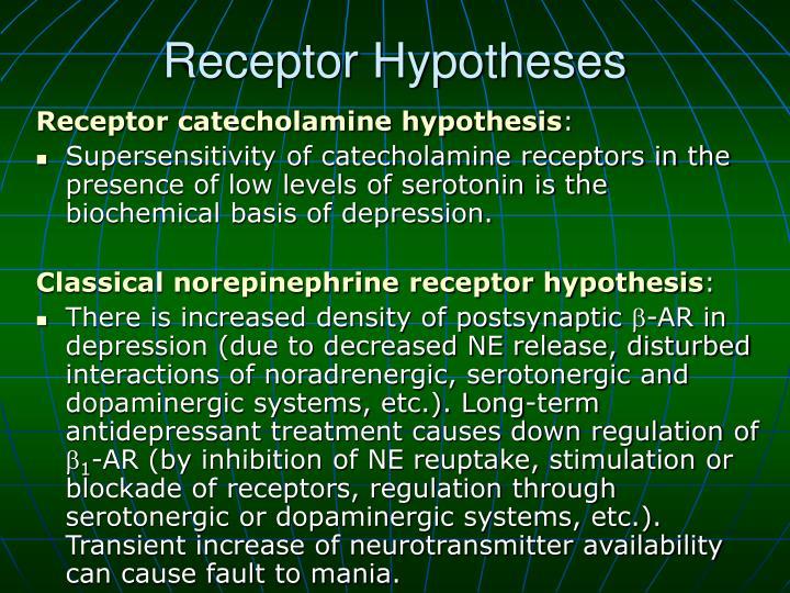 Receptor Hypotheses