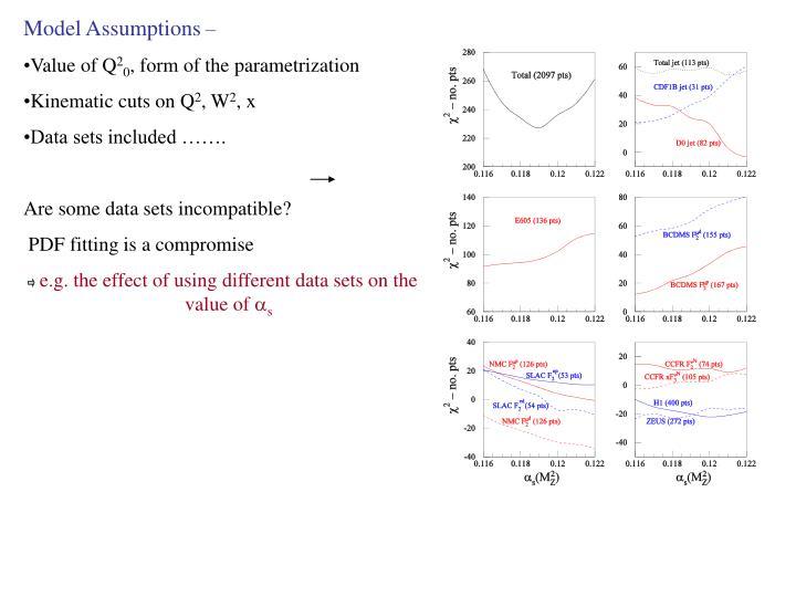 Model Assumptions