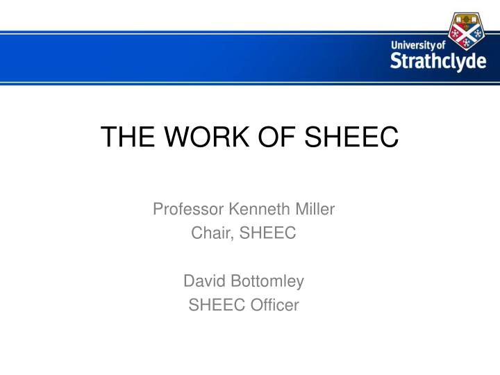 The work of sheec