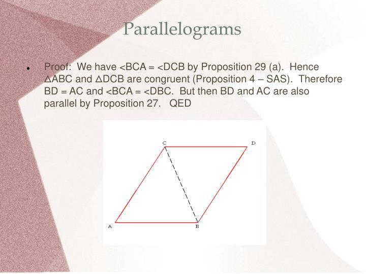 Parallelograms