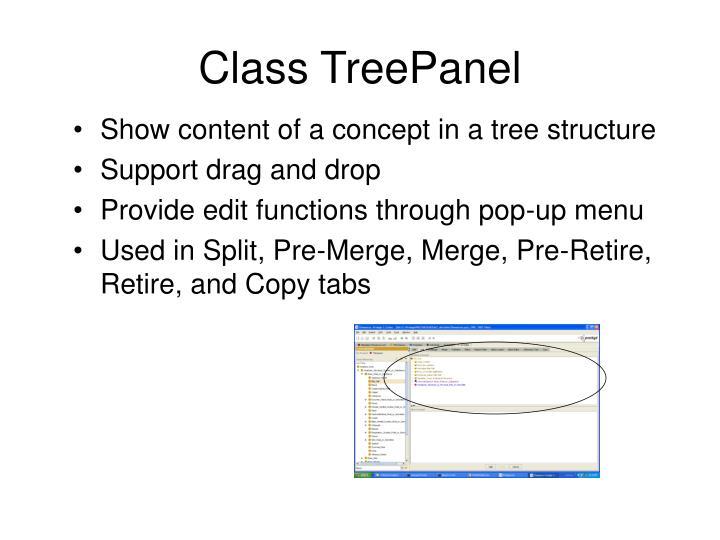 Class TreePanel
