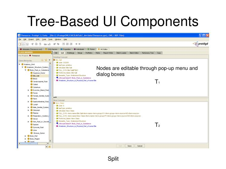 Tree-Based UI Components