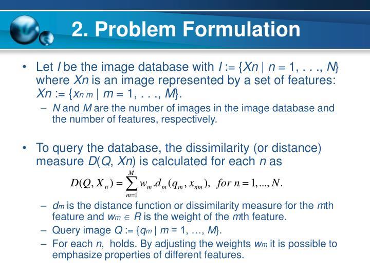 2. Problem Formulation