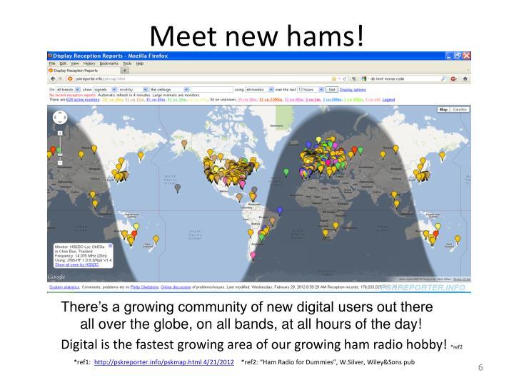 Meet new hams!