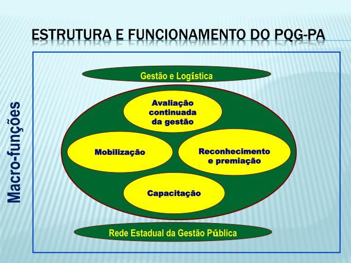 ESTRUTURA E FUNCIONAMENTO DO