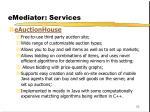 emediator services