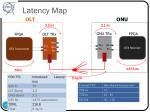 latency map