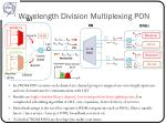 wavelength division multiplexing pon