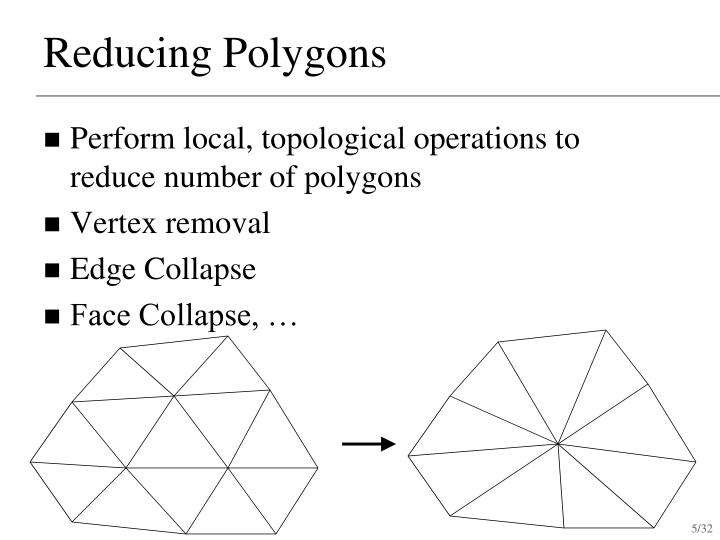 Reducing Polygons