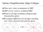 surface simplification edge collapse3