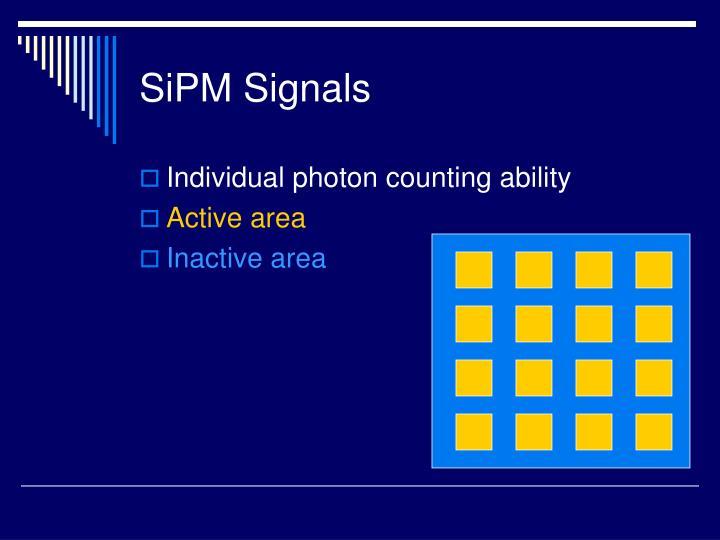 SiPM Signals