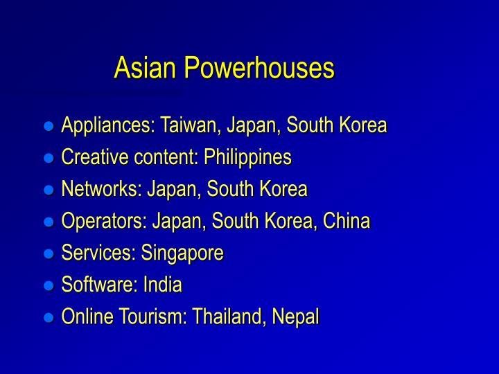 Asian Powerhouses