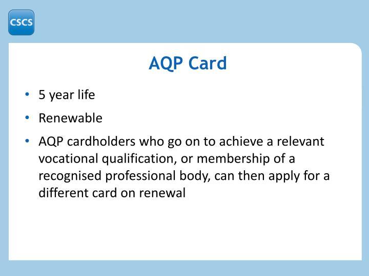 AQP Card