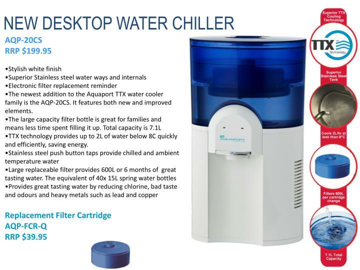 NEW DESKTOP WATER CHILLER