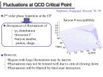 fluctuations at qcd critical point