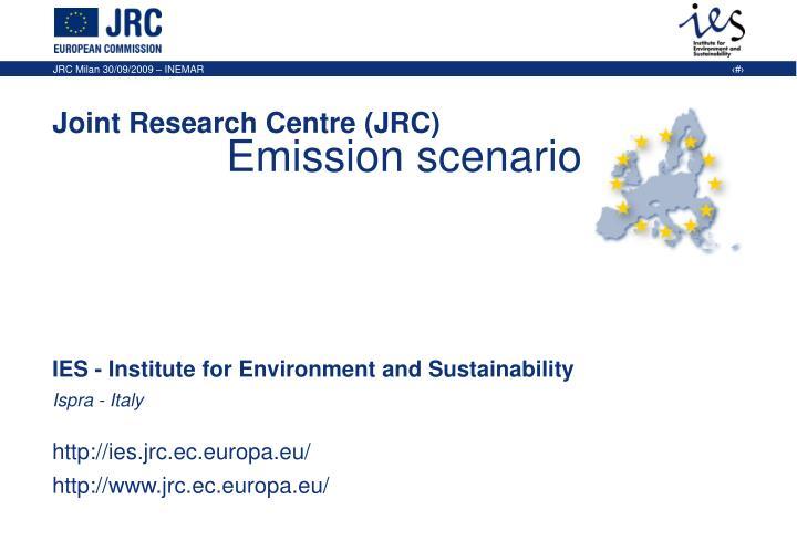 Emission scenario