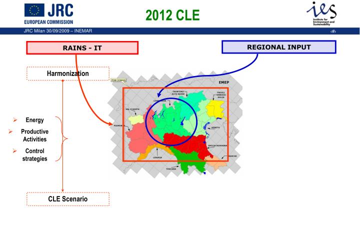 2012 CLE