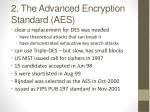 2 the advanced encryption standard aes