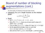 bound of number of blocking augmentations cont