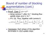 bound of number of blocking augmentations cont2