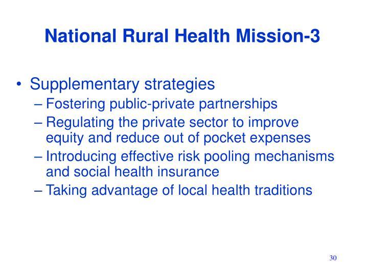 National Rural Health Mission-3