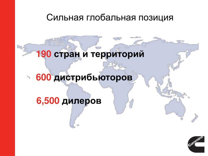 Сильная глобальная позиция