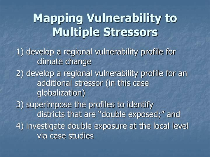 Mapping Vulnerability to
