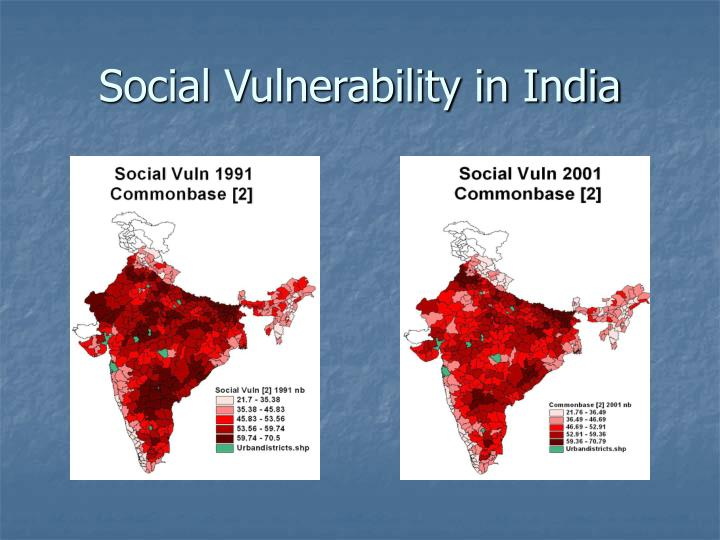 Social Vulnerability in India