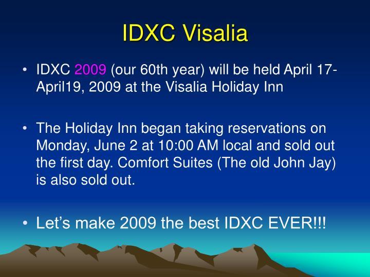 IDXC Visalia
