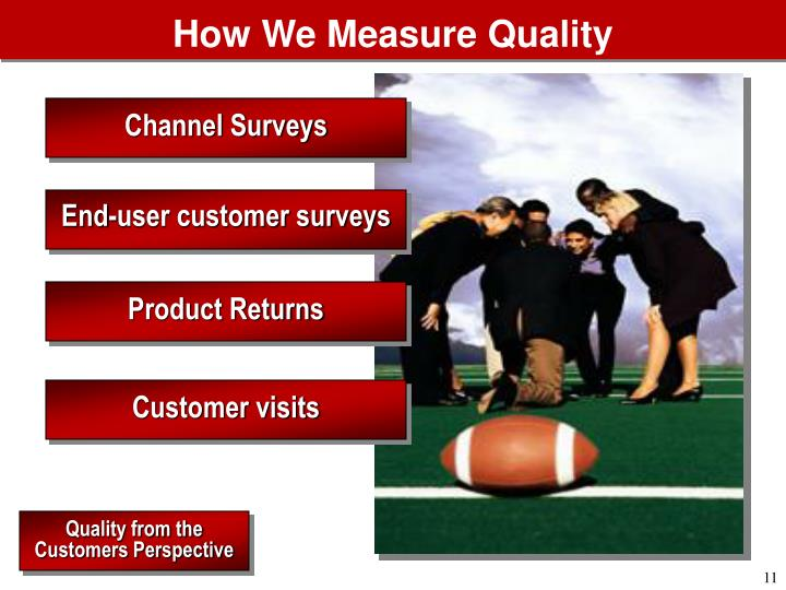 How We Measure Quality