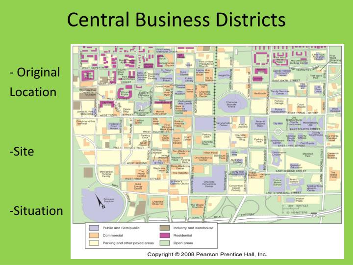 Central Business Districts