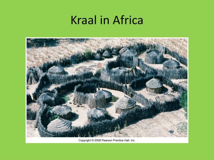 Kraal in Africa