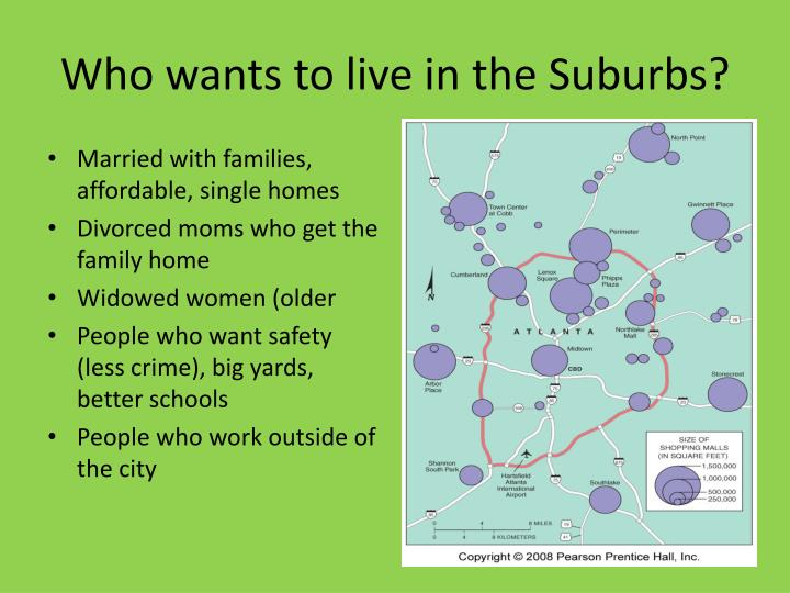 Who wants to live in the Suburbs?
