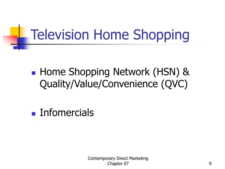 Television Home Shopping