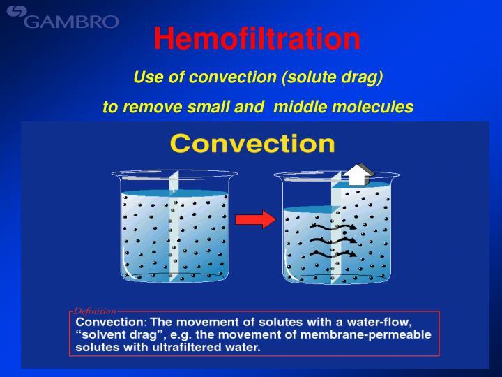 Hemofiltration