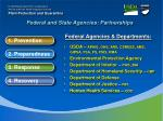 federal and state agencies partnerships