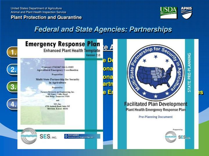 State Agencies: