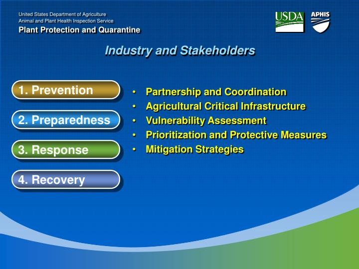 Industry and Stakeholders