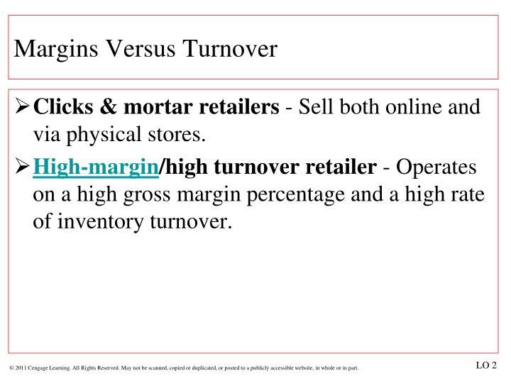 Margins Versus Turnover