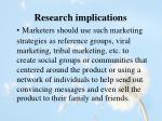 research implications1