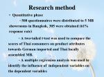 research method1