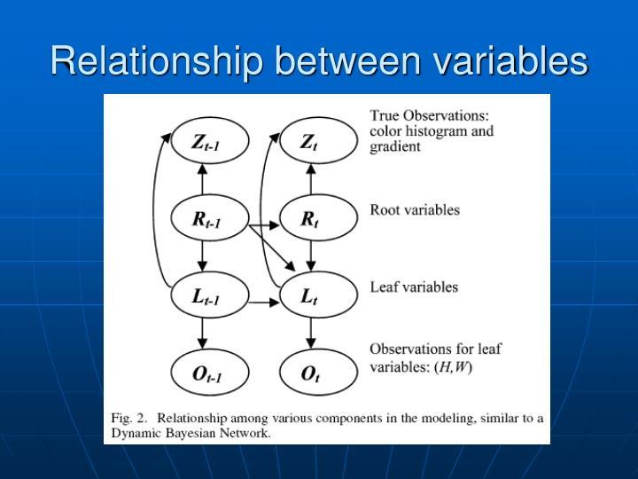 Relationship between variables