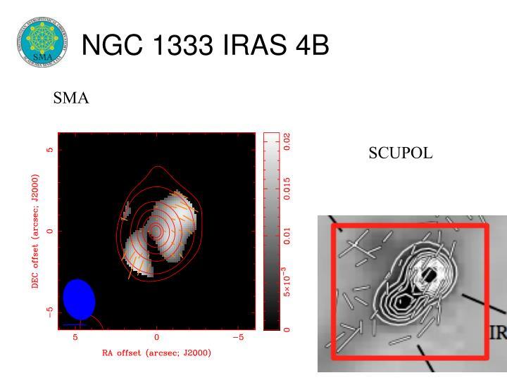 NGC 1333 IRAS 4B