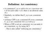 definition arc consistency