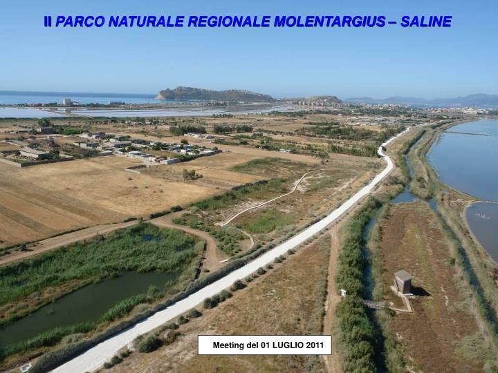 il parco naturale regionale molentargius saline