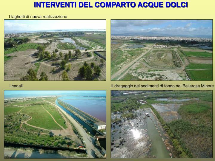 INTERVENTI DEL COMPARTO ACQUE DOLCI