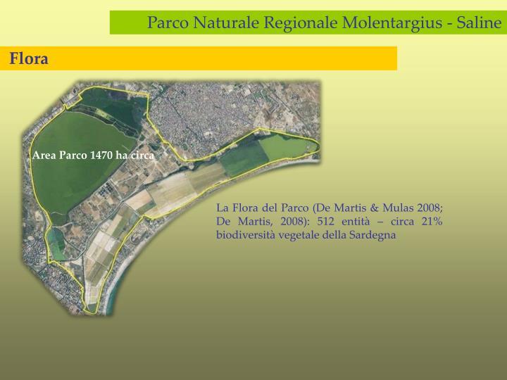 Area Parco 1470 ha circa